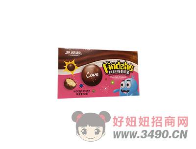 芬格欣跳跳糖麦丽素代可可脂巧克力味