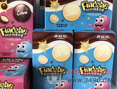 芬格欣跳跳糖麦丽素代可可脂白巧克力