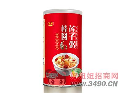欣客桂圆莲子粥罐装320g