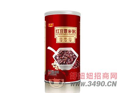 欣客红豆薏米粥罐装320g