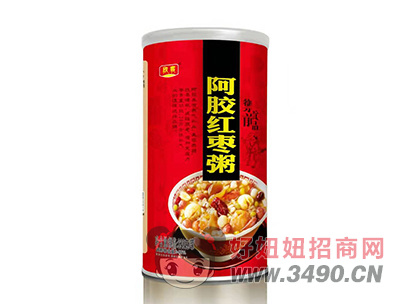 欣客阿胶红枣粥罐装320g