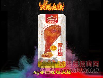 真食尚蜜汁鸭腿40g