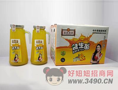 益生菌发酵芒果汁饮料