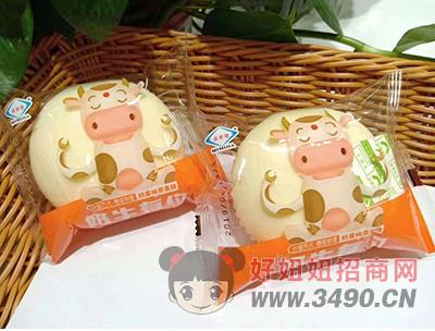 奶香味蒸蛋糕2