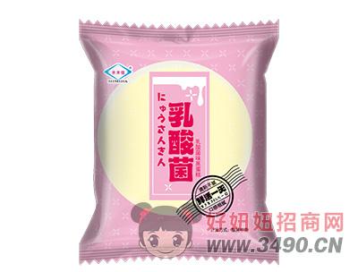 乳酸菌味蒸蛋糕(粉色)
