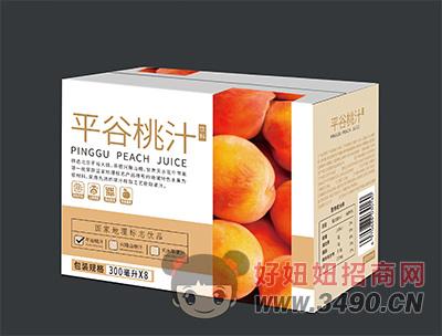 平谷桃汁饮料300ml×8