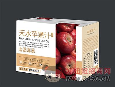 天水苹果汁饮料300ml×8