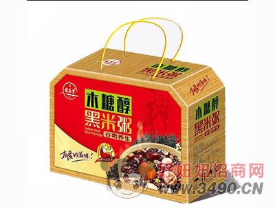 宏易堂木糖醇黑米粥