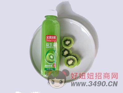 全球��果冷榨�J猴桃益生菌�l酵果汁�料