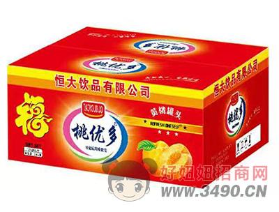 桃优多黄桃罐头