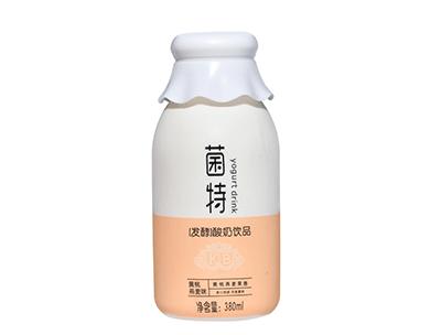 菌特�l酵酸奶�品�S桃燕��340ml