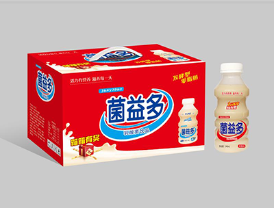 菌益多乳酸菌饮品零脂肪草莓味340ml