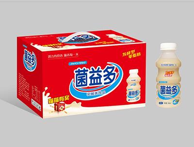 菌益多乳酸菌饮品零脂肪340ml