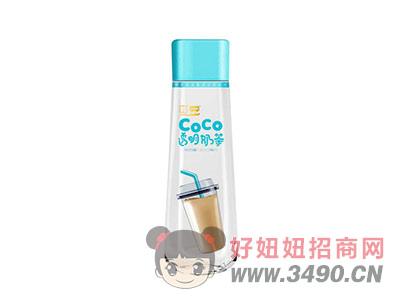 仲景药业CoCo透明奶茶320ml(正面)