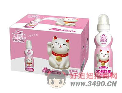 捷世冠儿童成长型AD钙铁锌酸奶lehu国际app下载草莓味200mlX20瓶