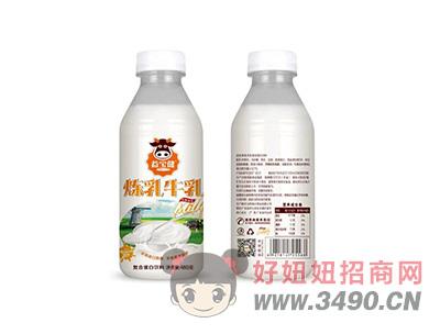 益宝健炼乳牛乳复合蛋白饮料480g