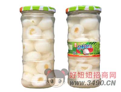 桂钦糖水荔枝罐头628g