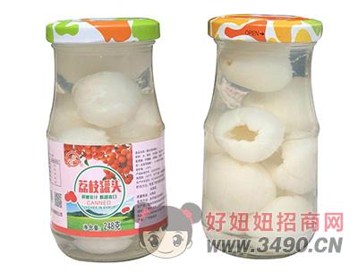 桂钦荔枝罐头248g