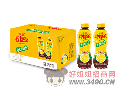 乐朋柠檬茶风味饮料500mlX15瓶