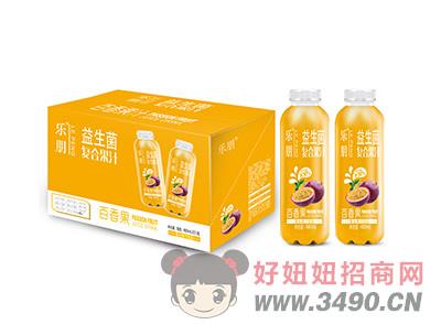 乐朋益生菌复合果汁百香果480mlX15瓶
