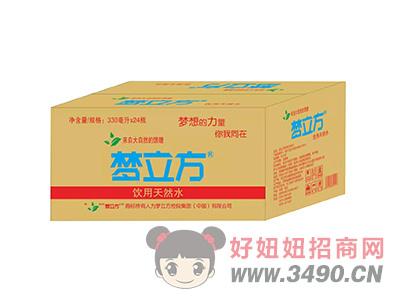 梦立方饮用天然水330mlX24瓶