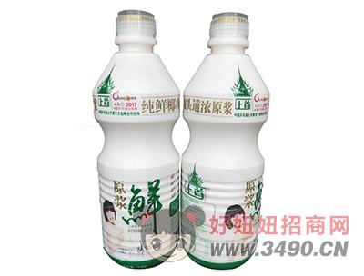 上首原浆鲜榨椰子汁1.25L