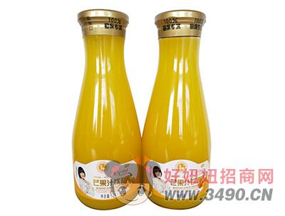 �R之果芒果汁�料1L瓶�b