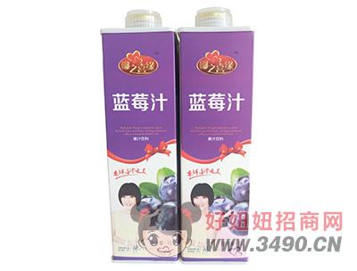 椰之喜��{莓汁�料1L