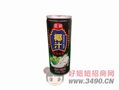正宗椰汁宴会饮品椰汁饮料340ml