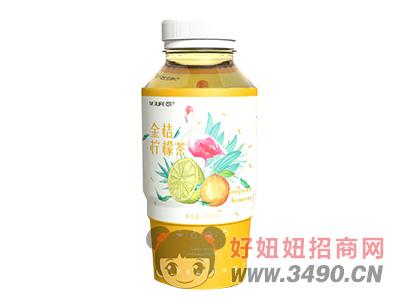 迈芙金桔柠檬茶果味饮料480ml