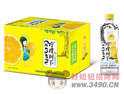 柠檬树下柠檬果味水500ml×15瓶