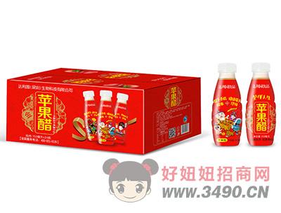 华宝圣园发酵型苹果醋饮料350ml×24瓶4