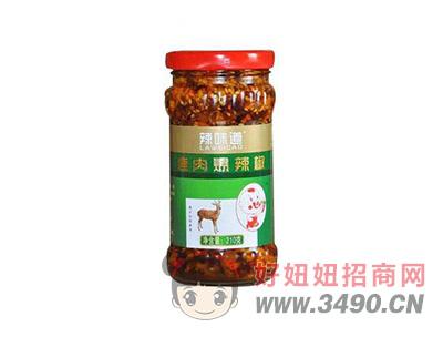 辣味道鹿肉爆辣椒210克
