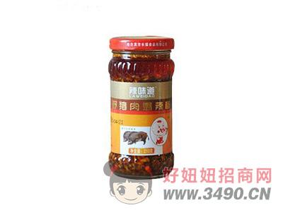 辣味道野猪肉爆辣椒210克