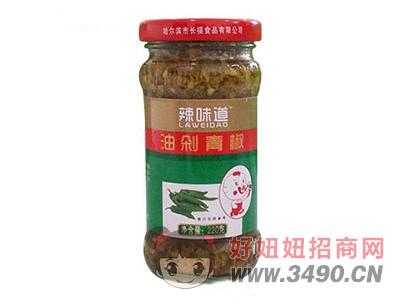 辣味道油剁青椒220克