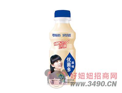 优菌多乳酸菌饮品原味340ml(蓝)