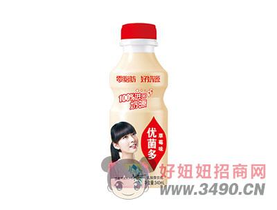 优菌多乳酸菌饮品草莓味340ml