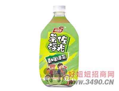 柯菲雪茶佐浮光青梅绿茶