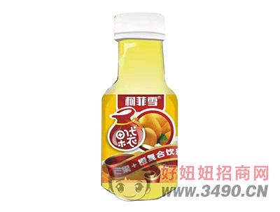 柯菲雪芒果+橙复合果味饮料330ml