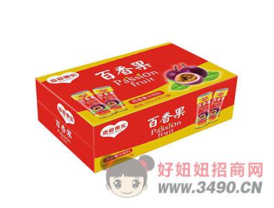 恋爱果实百香果汁饮料245mlX12罐
