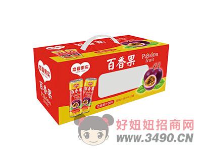 恋爱果实百香果汁饮料245mlX12罐(手提)