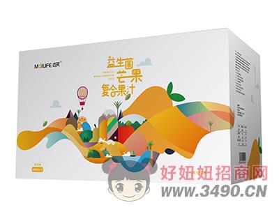 迈芙益生菌芒果复合果汁饮料480ml×15瓶