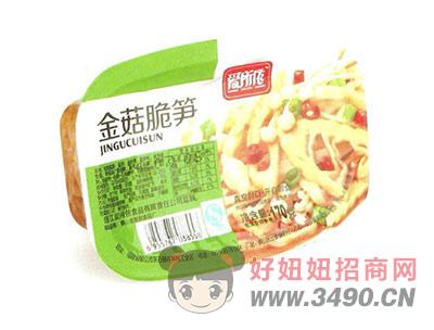 金菇脆笋170g