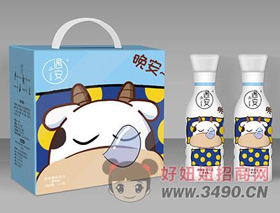 遇安晚安果肉型原味酸奶饮品1L×6瓶