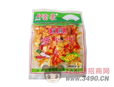 �豪豆豉萝卜丁80g