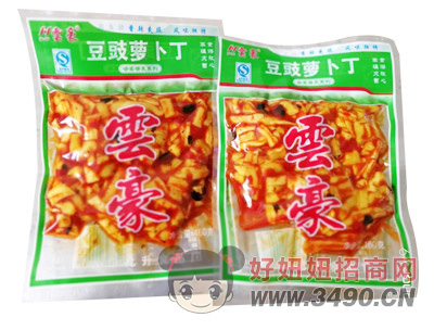 �豪豆豉萝卜丁160g