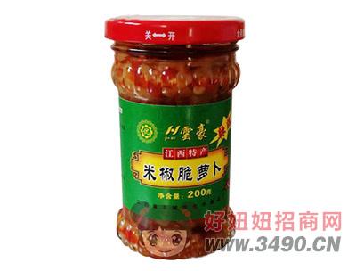 �豪米椒脆萝卜200g
