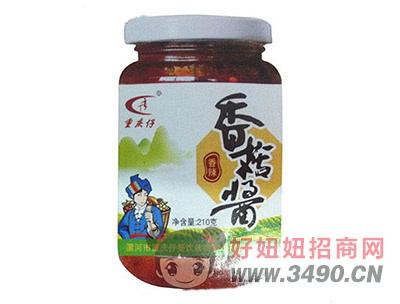 重庆仔香辣香菇酱210克