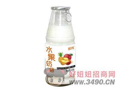 甄秀混合梅味水果奶昔220g