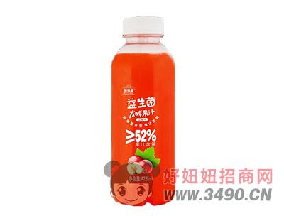 维他星益生菌发酵果汁山楂汁饮料428ml